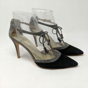 Boden Alice T-Strap Pointy Heels, EUC